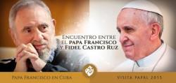 pope y fidel
